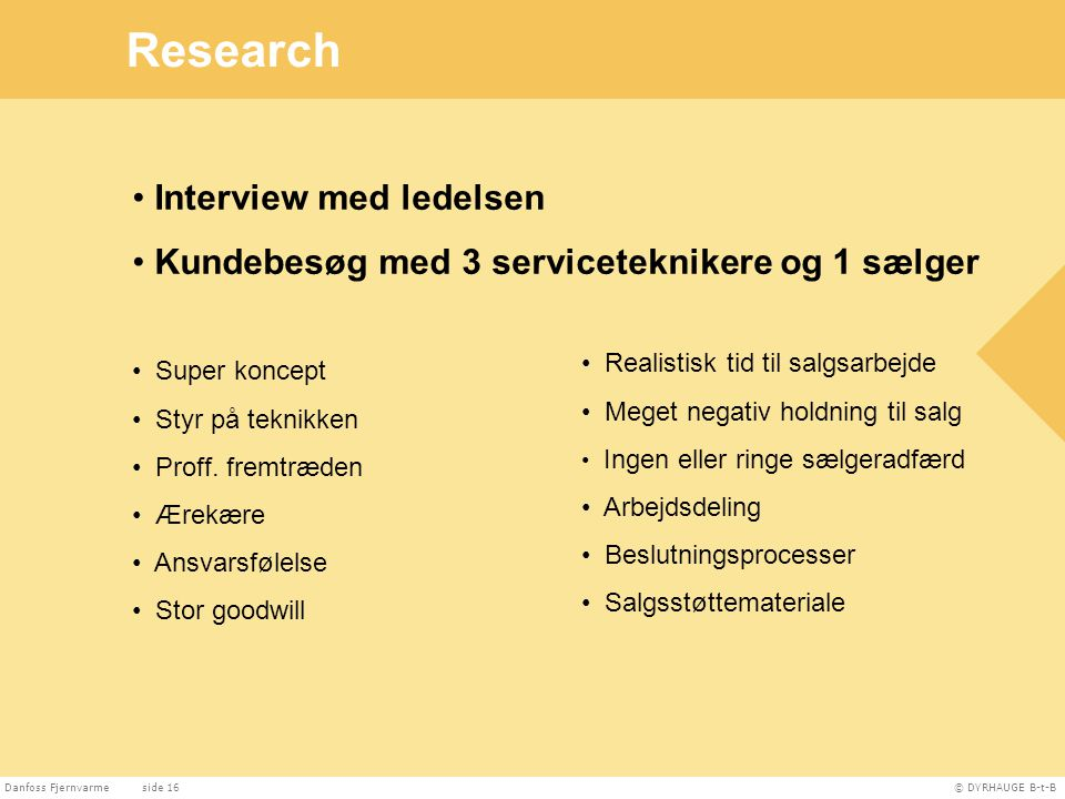 Research Interview med ledelsen