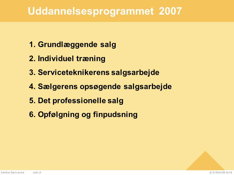 Uddannelsesprogrammet 2007