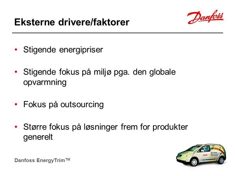 Eksterne drivere/faktorer