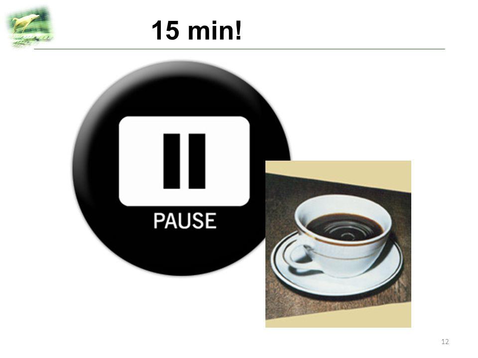 15 min!