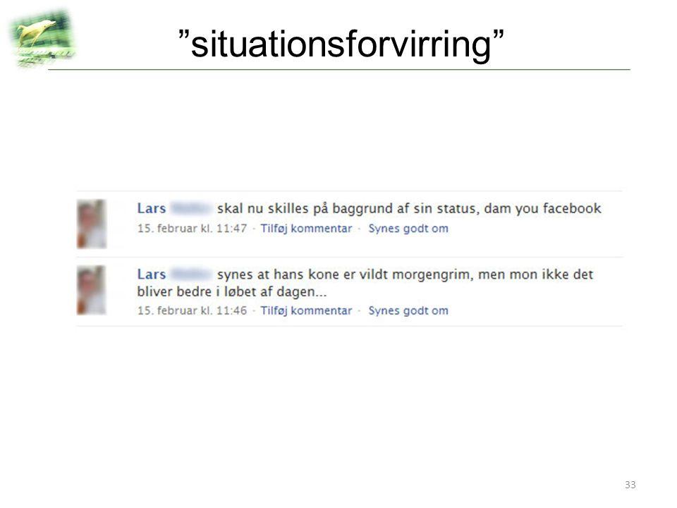 situationsforvirring