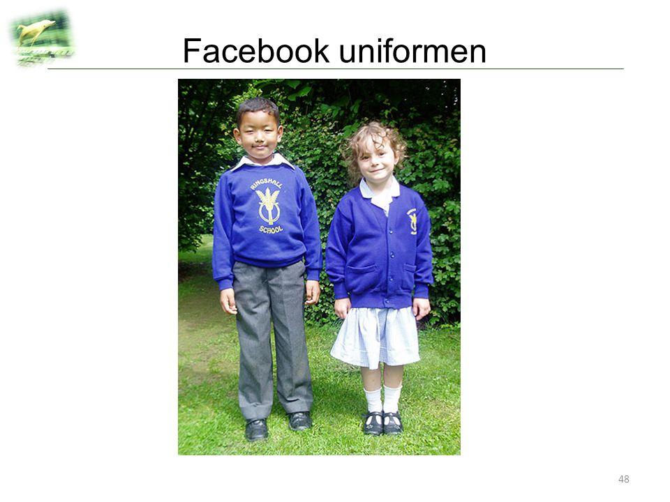 Facebook uniformen
