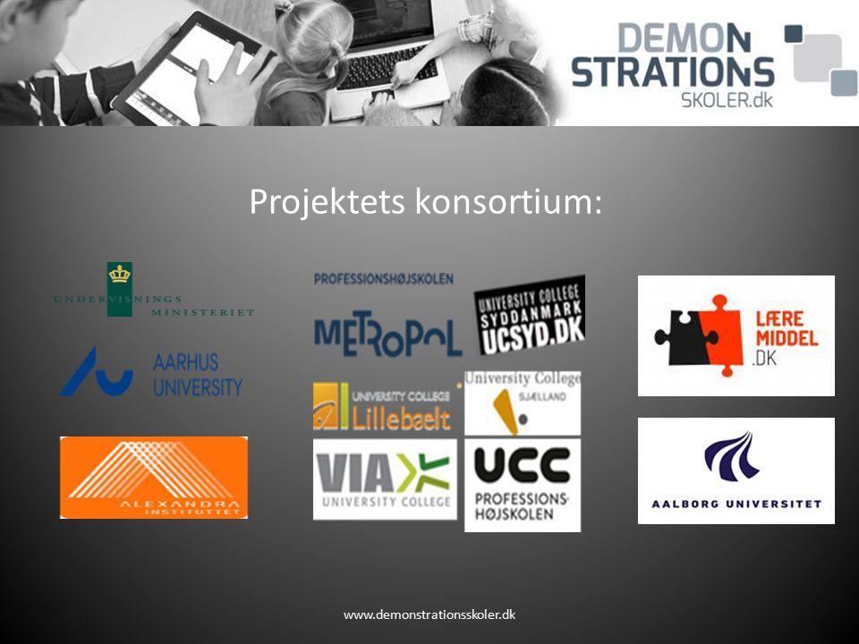 Projektets konsortium: