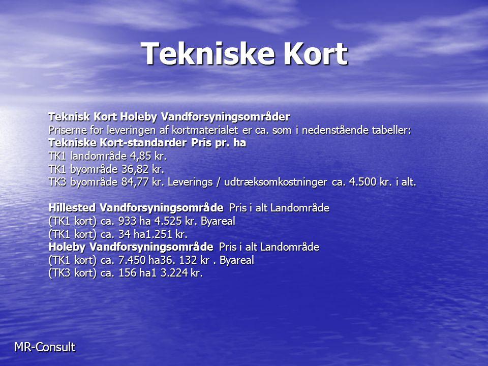 Tekniske Kort MR-Consult Teknisk Kort Holeby Vandforsyningsområder