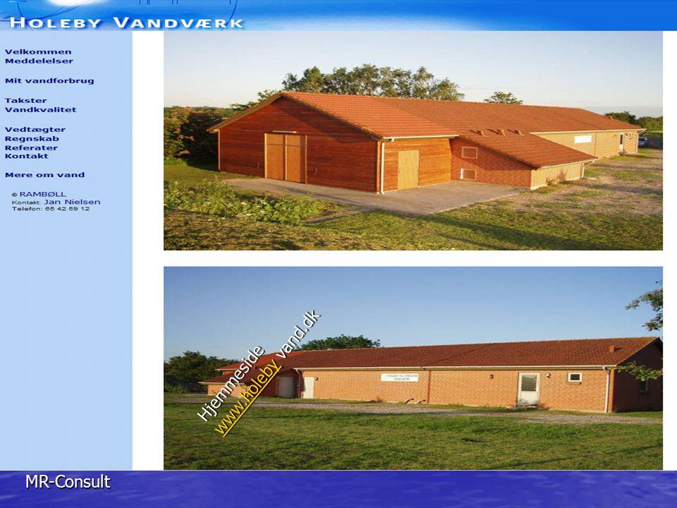 Hjemmeside www.holeby vand.dk