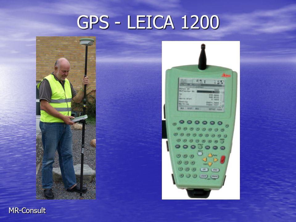 GPS - LEICA 1200 MR-Consult