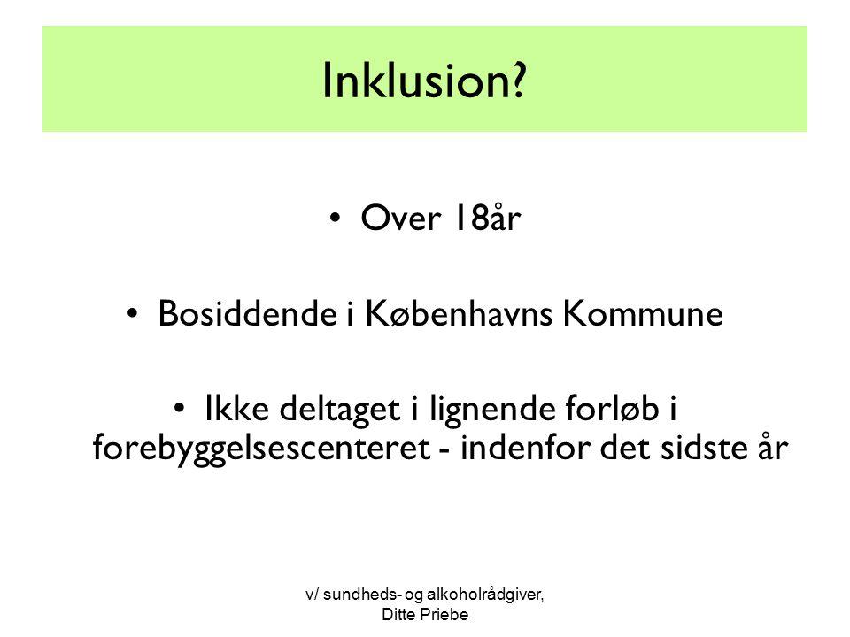 Inklusion Over 18år Bosiddende i Københavns Kommune