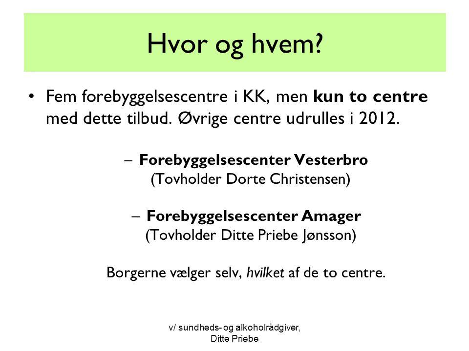 Forebyggelsescenter Vesterbro Forebyggelsescenter Amager