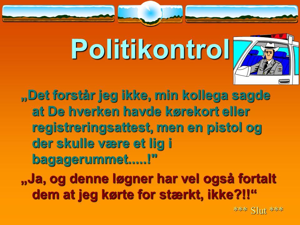 Politikontrol