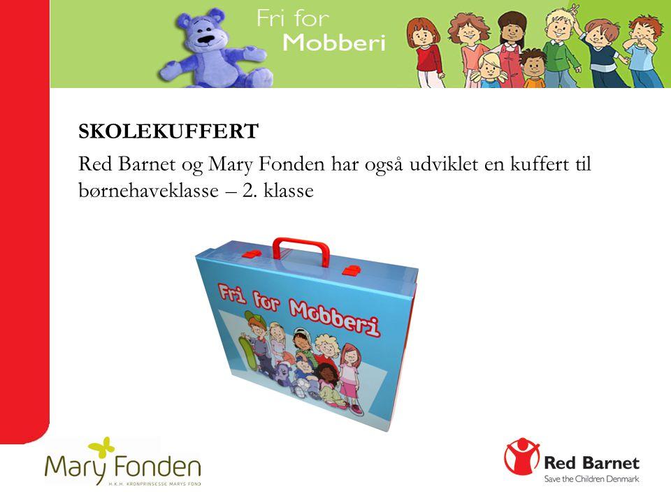 SKOLEKUFFERT Red Barnet og Mary Fonden har også udviklet en kuffert til børnehaveklasse – 2. klasse