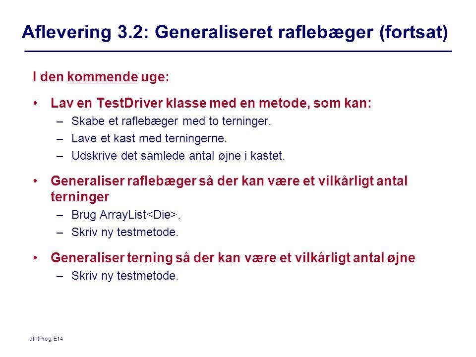 Aflevering 3.2: Generaliseret raflebæger (fortsat)