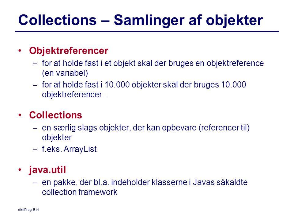 Collections – Samlinger af objekter