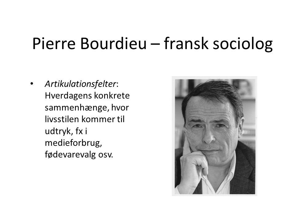Pierre Bourdieu – fransk sociolog