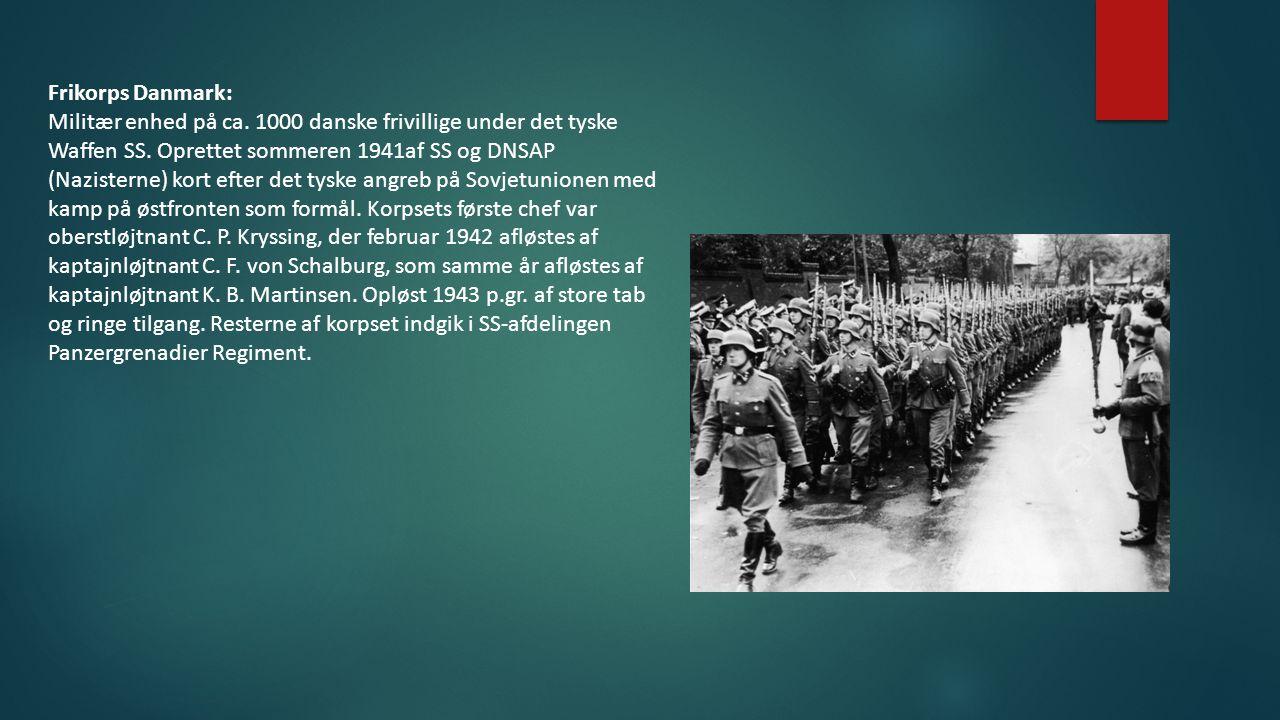 Frikorps Danmark: