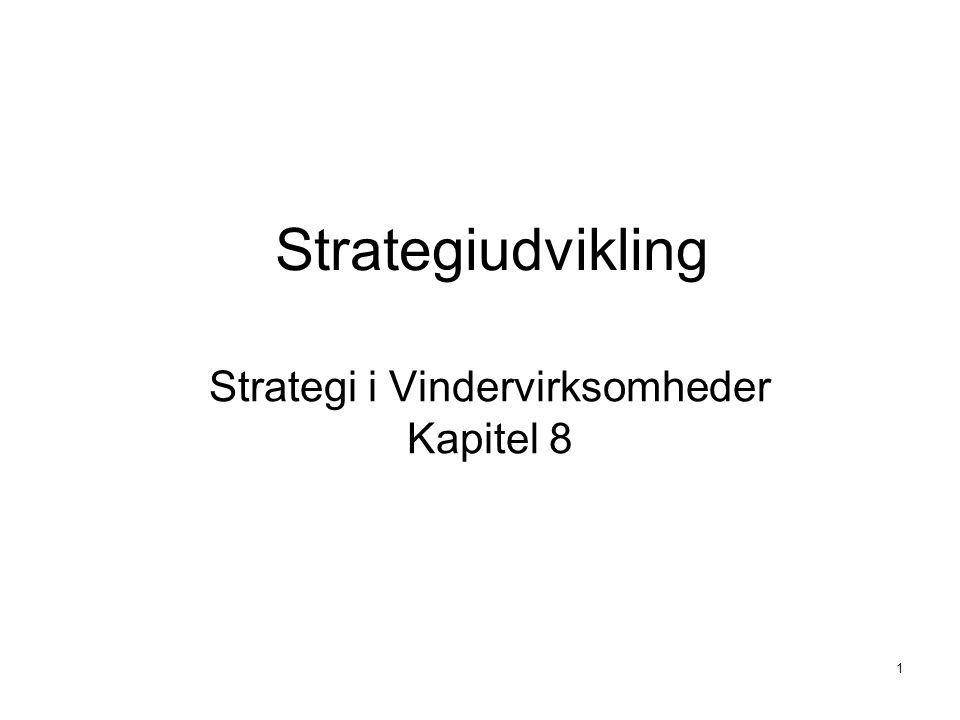 Strategi i Vindervirksomheder Kapitel 8