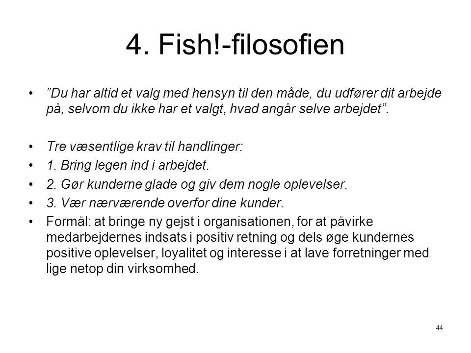 4. Fish!-filosofien