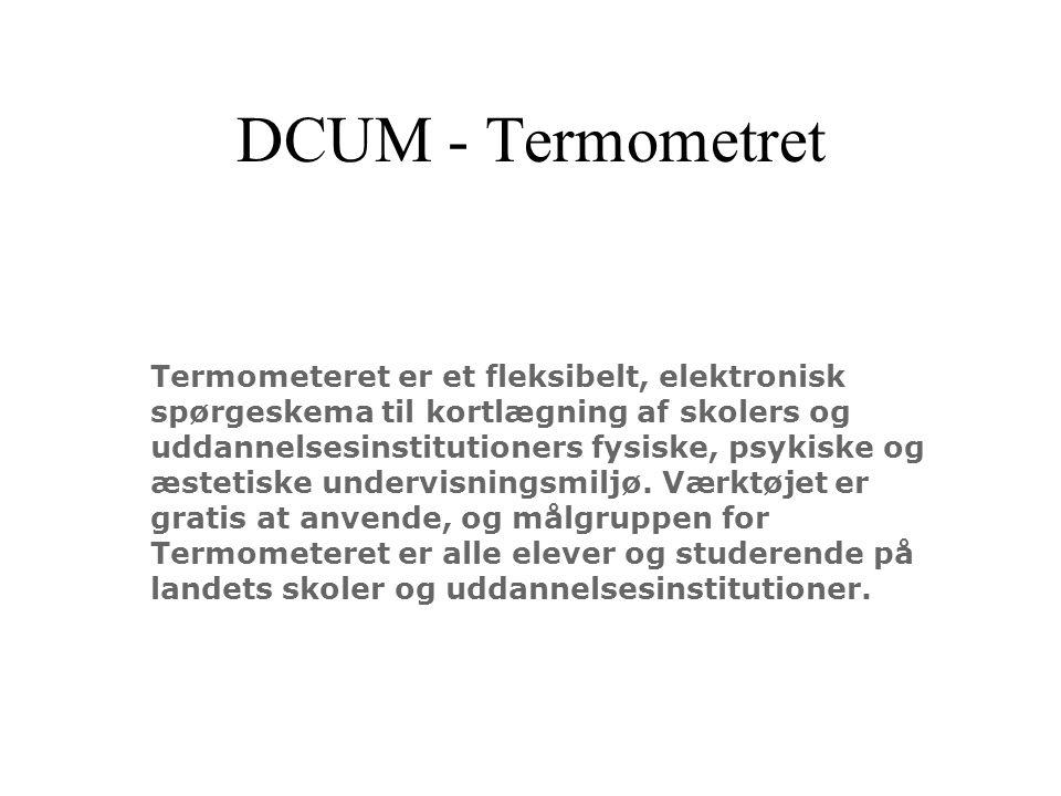 DCUM - Termometret Termometeret