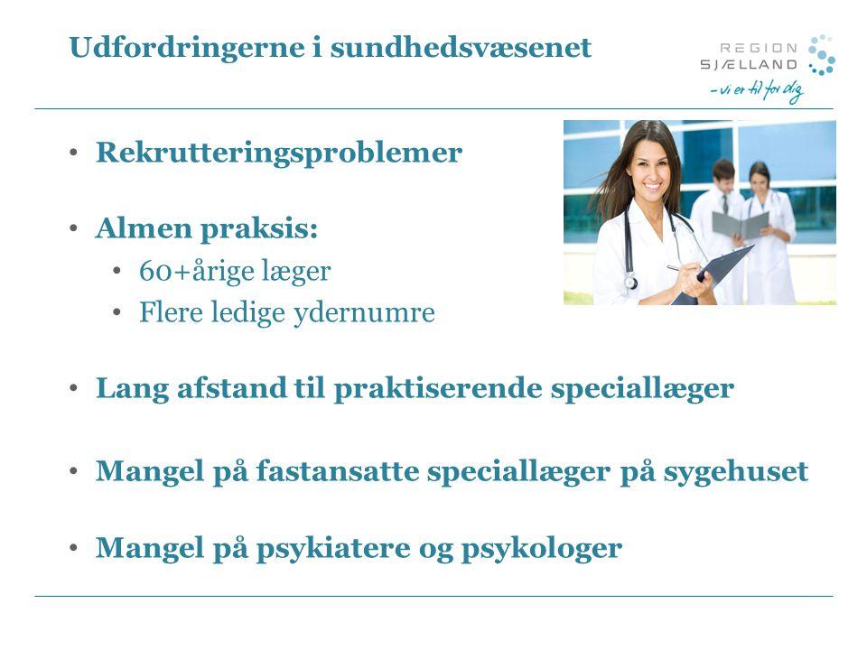Udfordringerne i sundhedsvæsenet