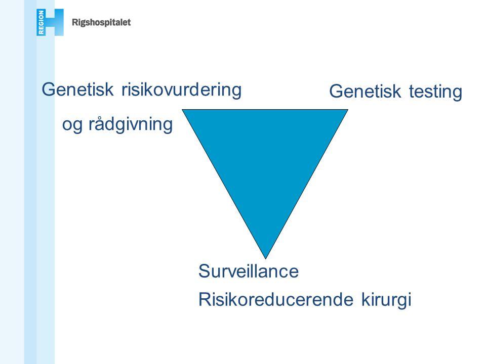 Genetisk risikovurdering