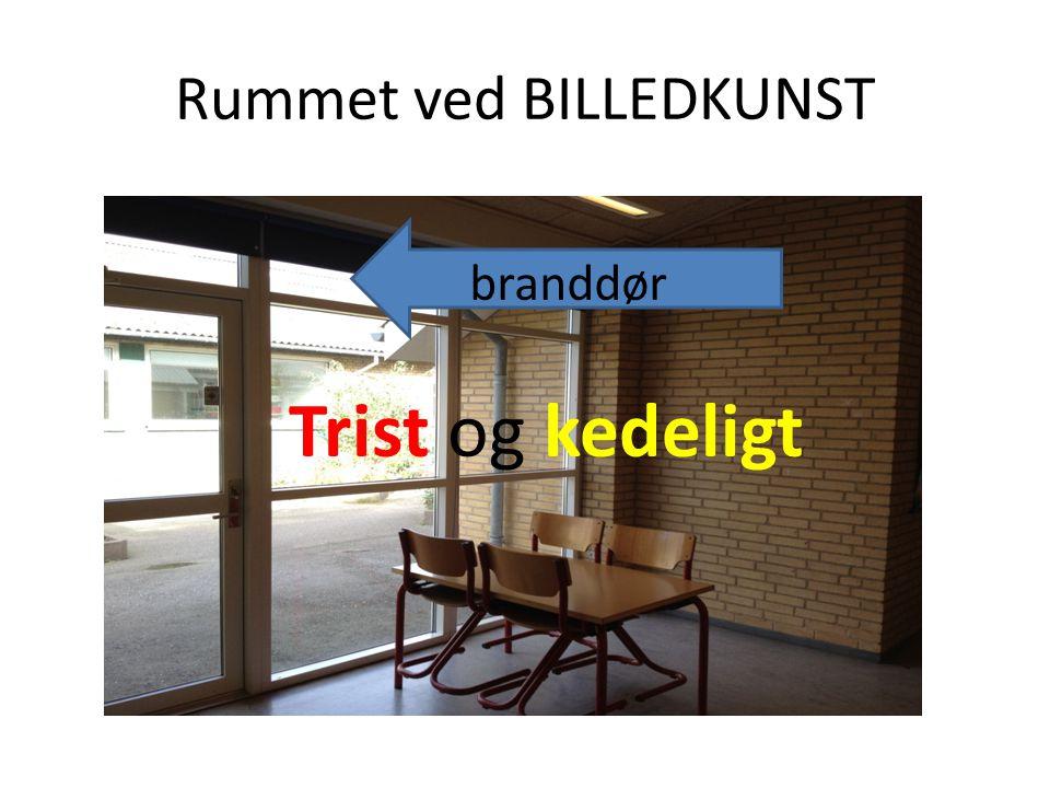 Rummet ved BILLEDKUNST