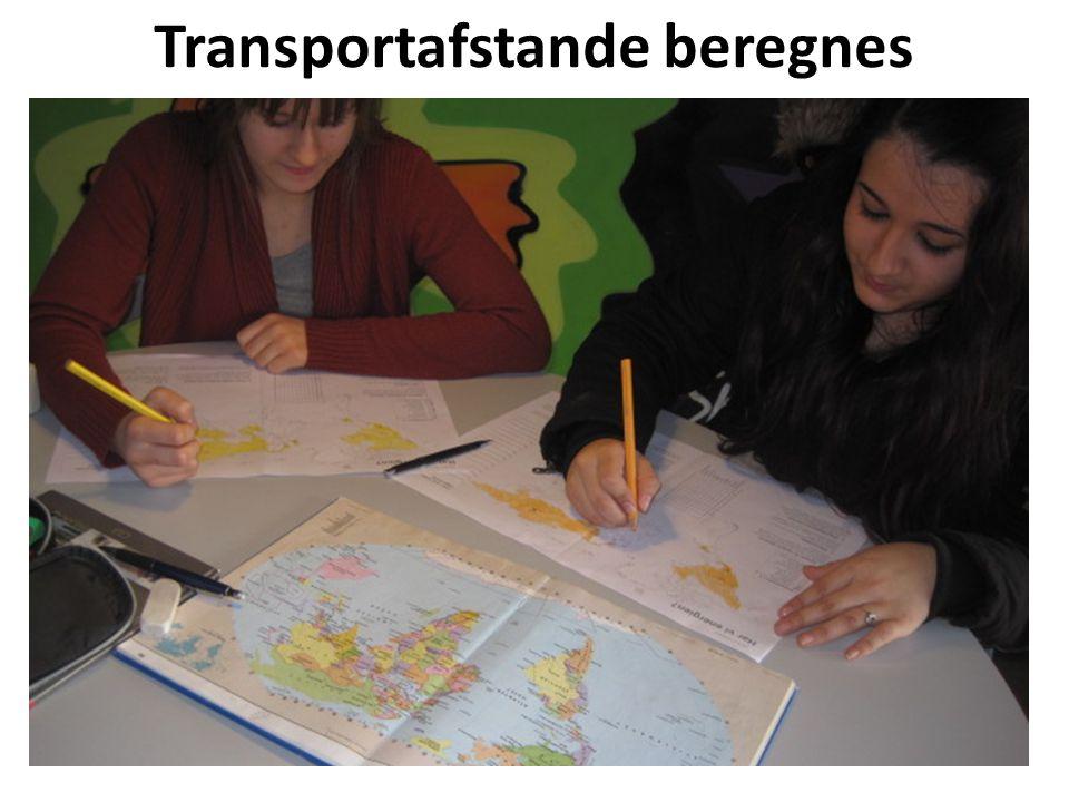 Transportafstande beregnes