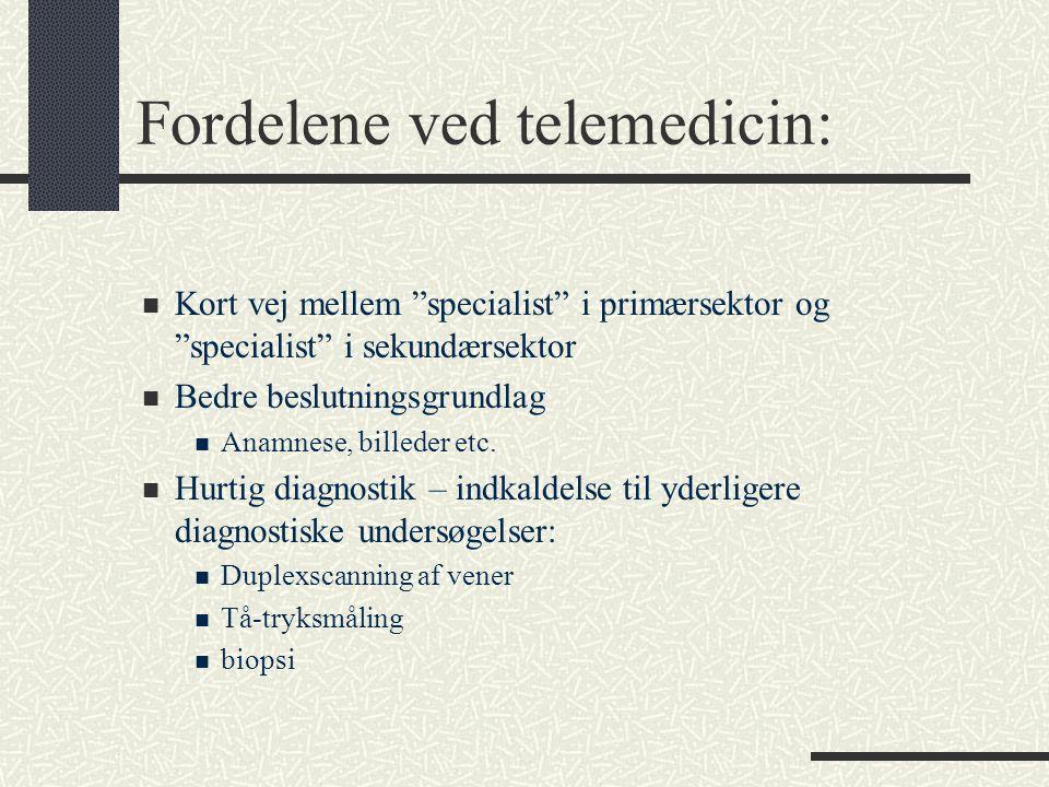 Fordelene ved telemedicin:
