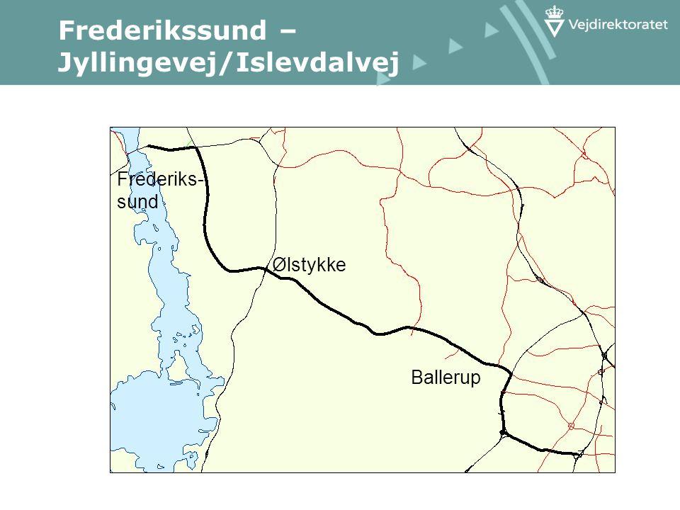 Frederikssund – Jyllingevej/Islevdalvej