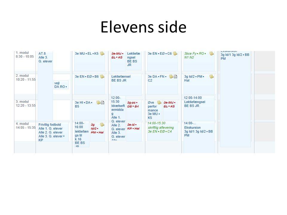 Elevens side