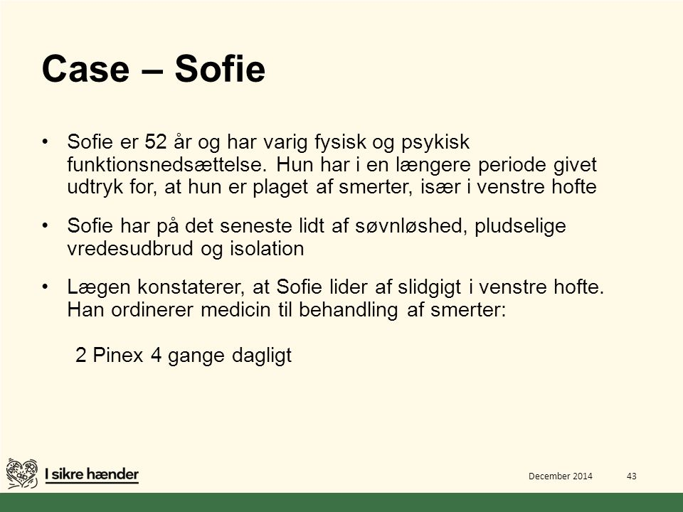Case – Sofie