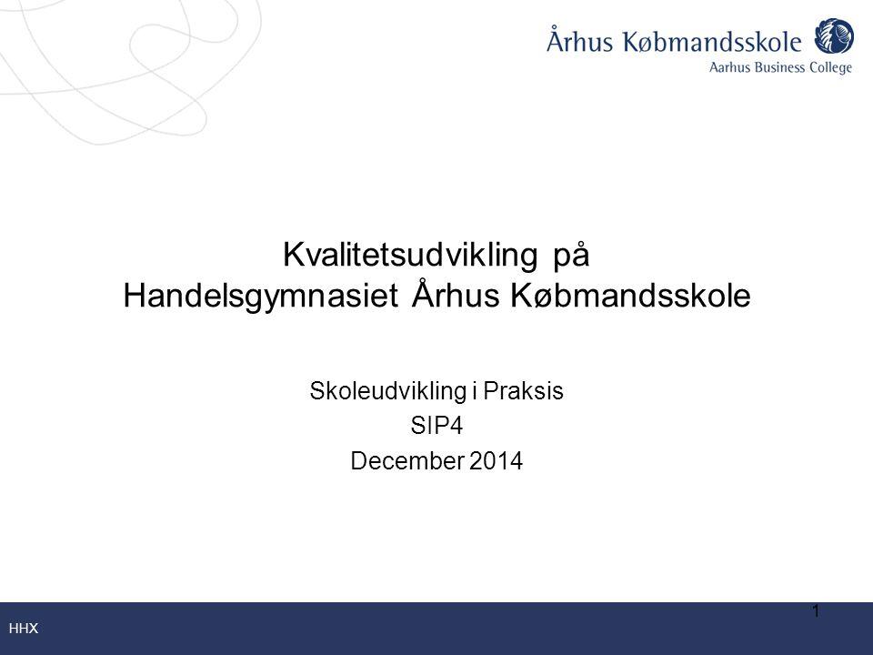 Kvalitetsudvikling på Handelsgymnasiet Århus Købmandsskole