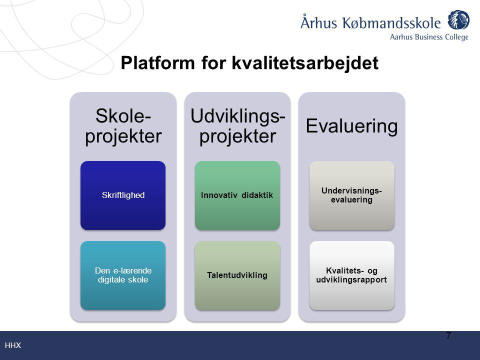 Platform for kvalitetsarbejdet