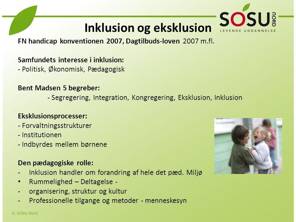 Inklusion og eksklusion