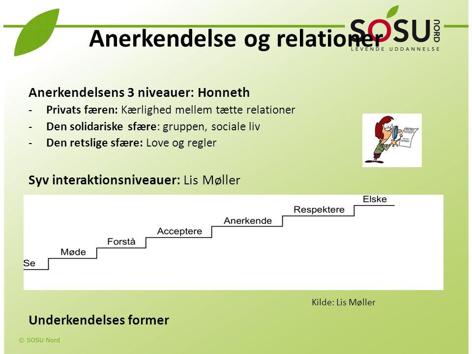 Anerkendelse og relationer