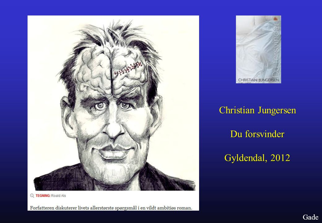 Christian Jungersen Du forsvinder Gyldendal, 2012 Gade