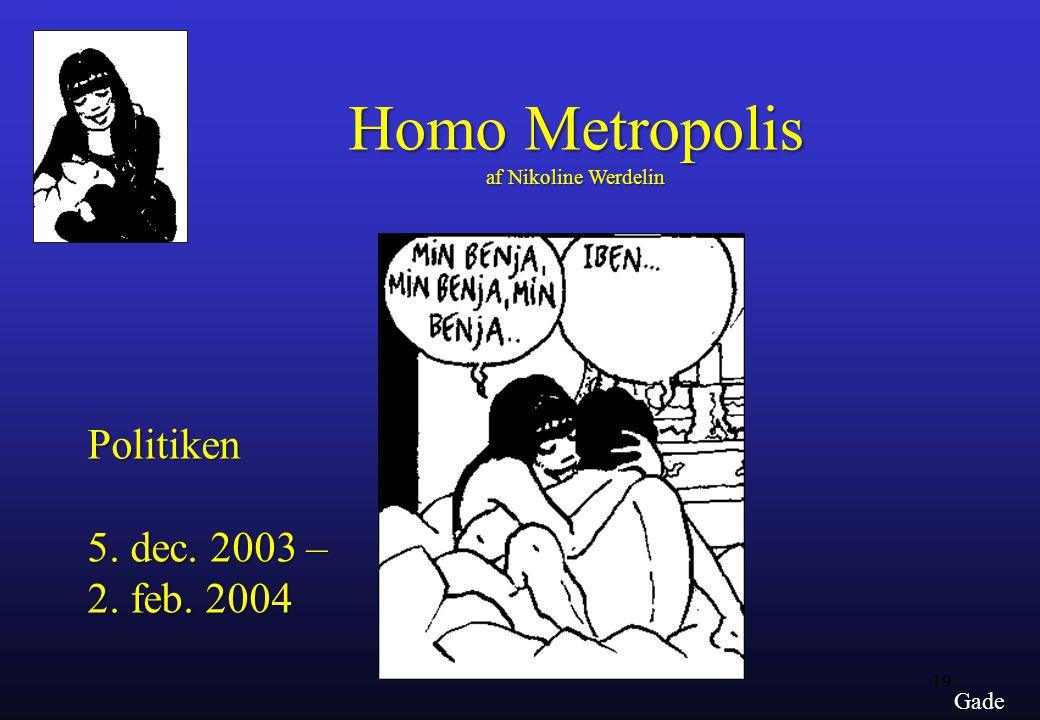 Homo Metropolis af Nikoline Werdelin