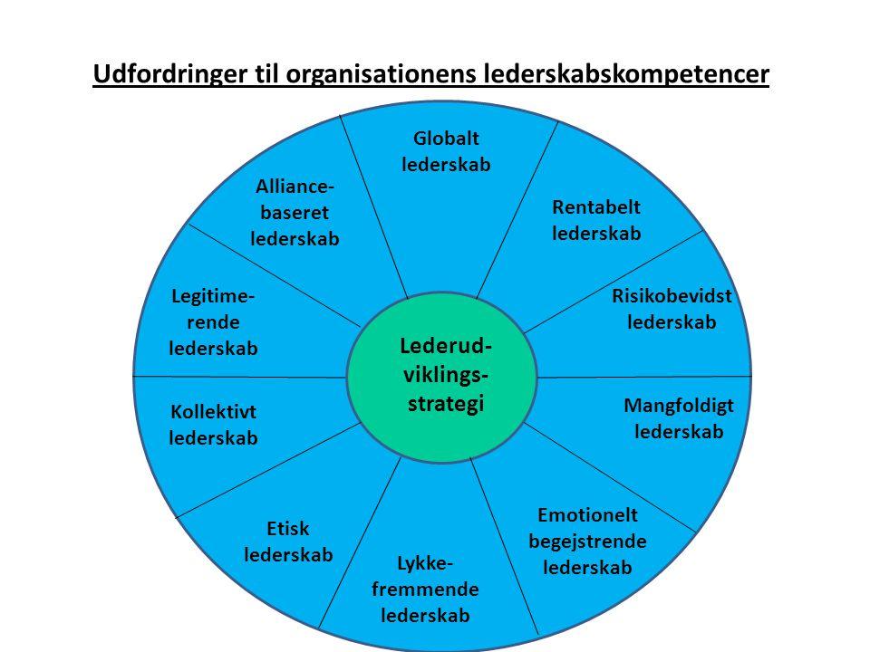 Udfordringer til organisationens lederskabskompetencer