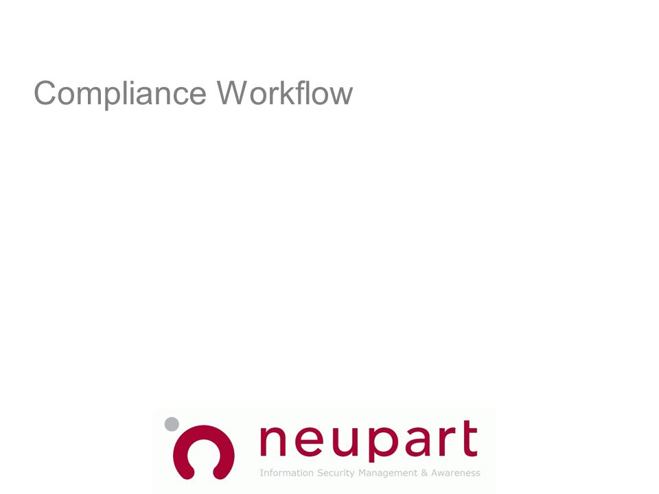 Compliance Workflow