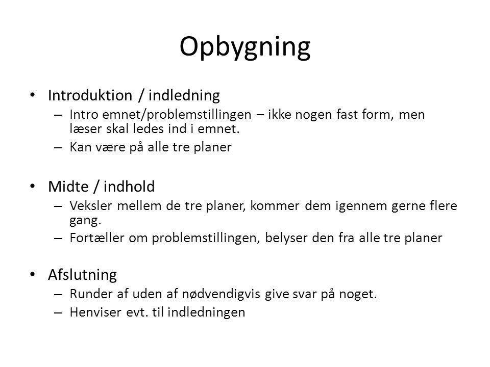 opbygning af essay dansk Click here click here click here click here click here opbygning af engelsk essay writing dansk i skolen: at skrive.