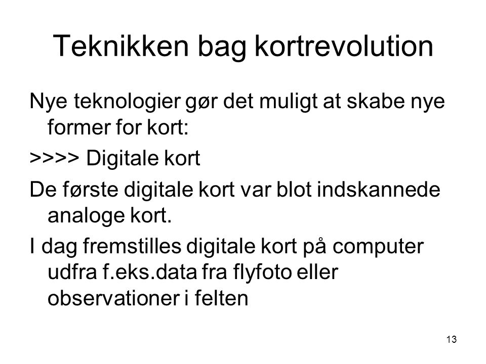 Teknikken bag kortrevolution