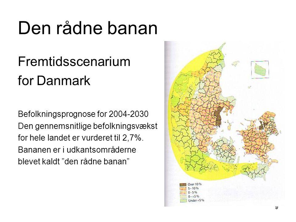 Den rådne banan Fremtidsscenarium for Danmark