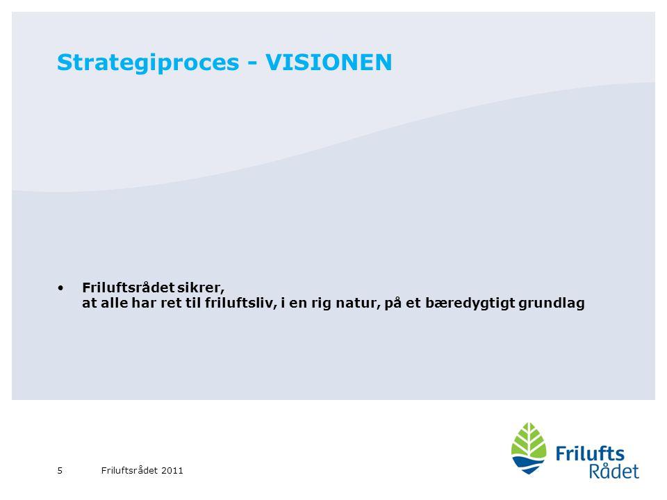 Strategiproces - VISIONEN