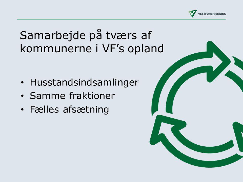 Samarbejde på tværs af kommunerne i VF's opland
