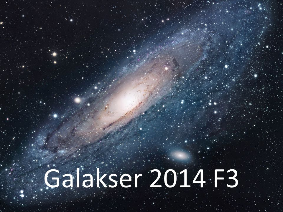 Galakser 2014 F3