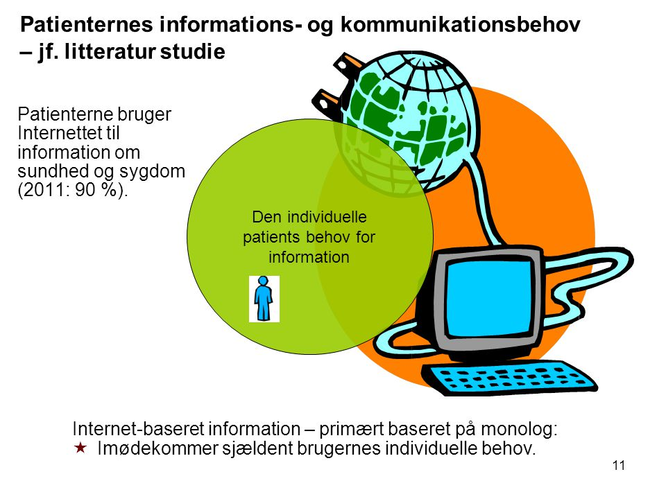 Den individuelle patients behov for information