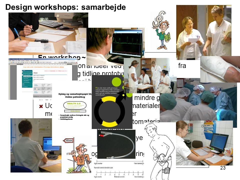 Design workshops: samarbejde