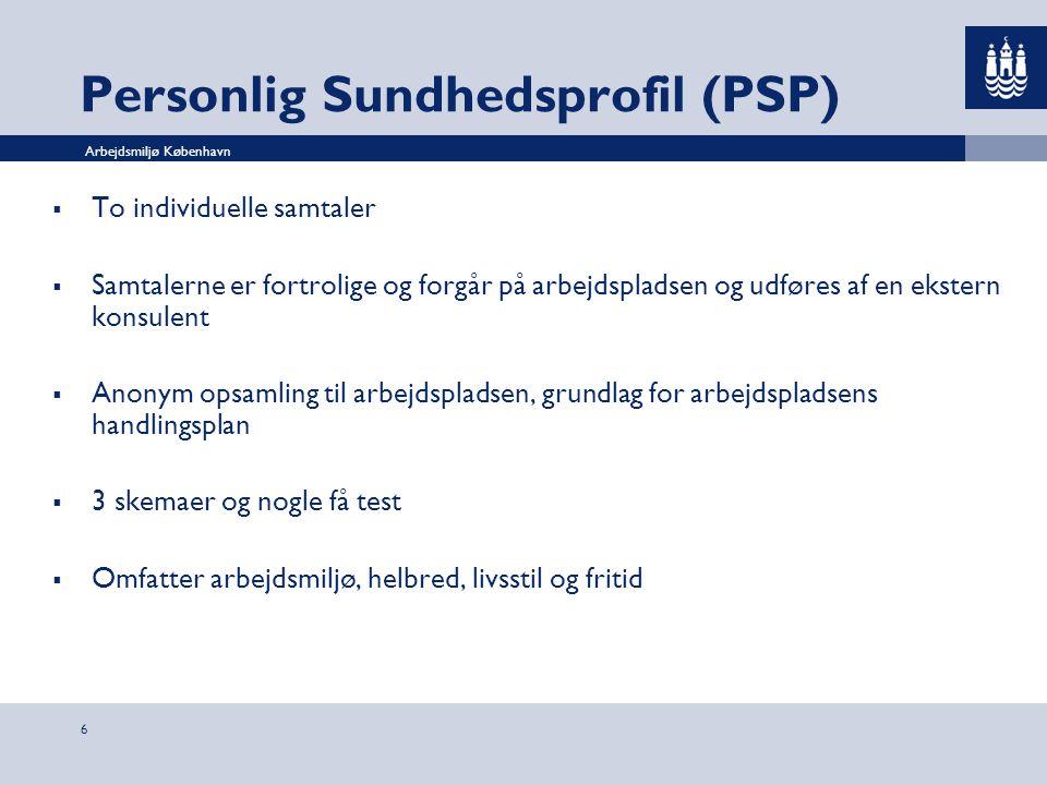 Personlig Sundhedsprofil (PSP)