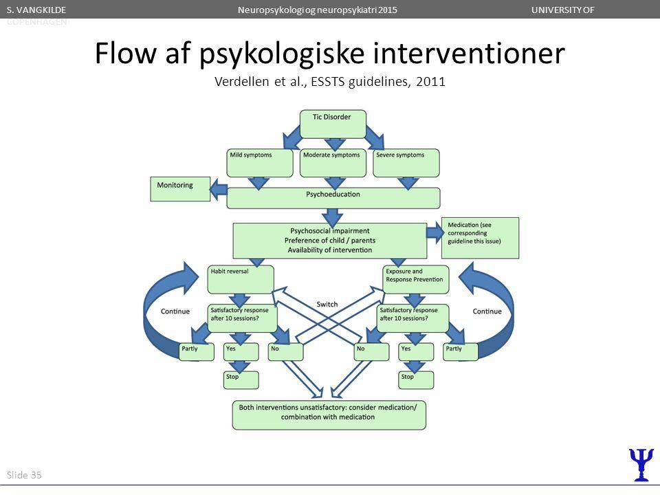 Flow af psykologiske interventioner Verdellen et al