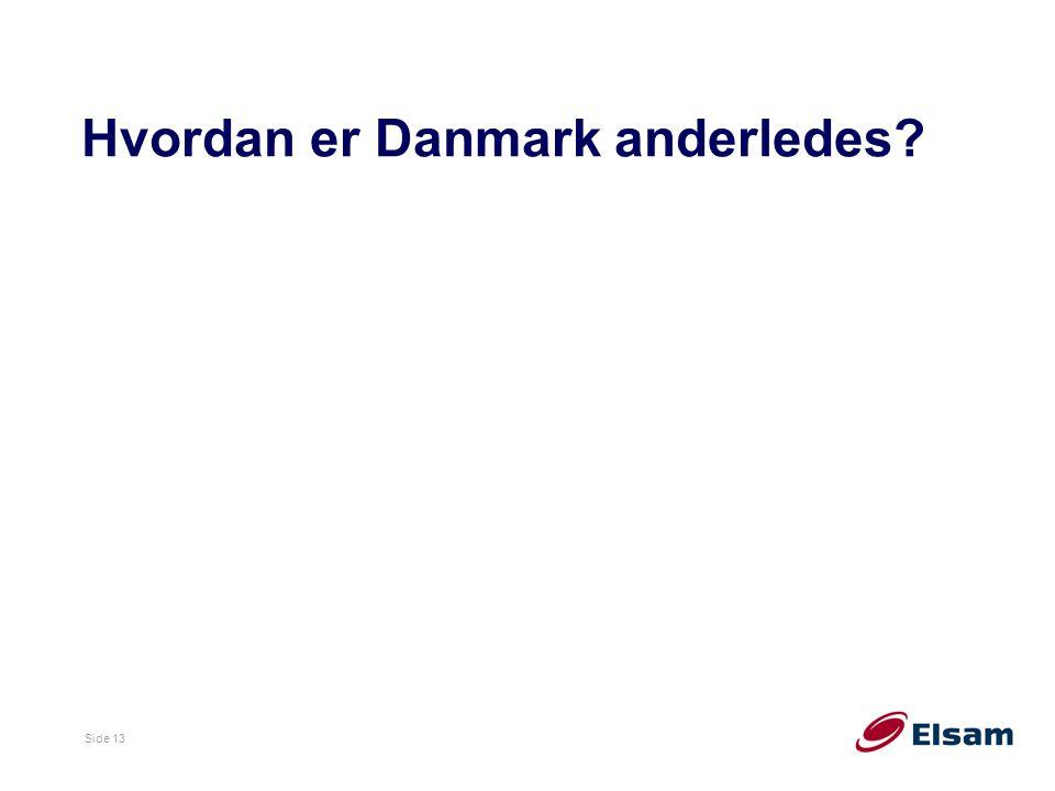 Hvordan er Danmark anderledes