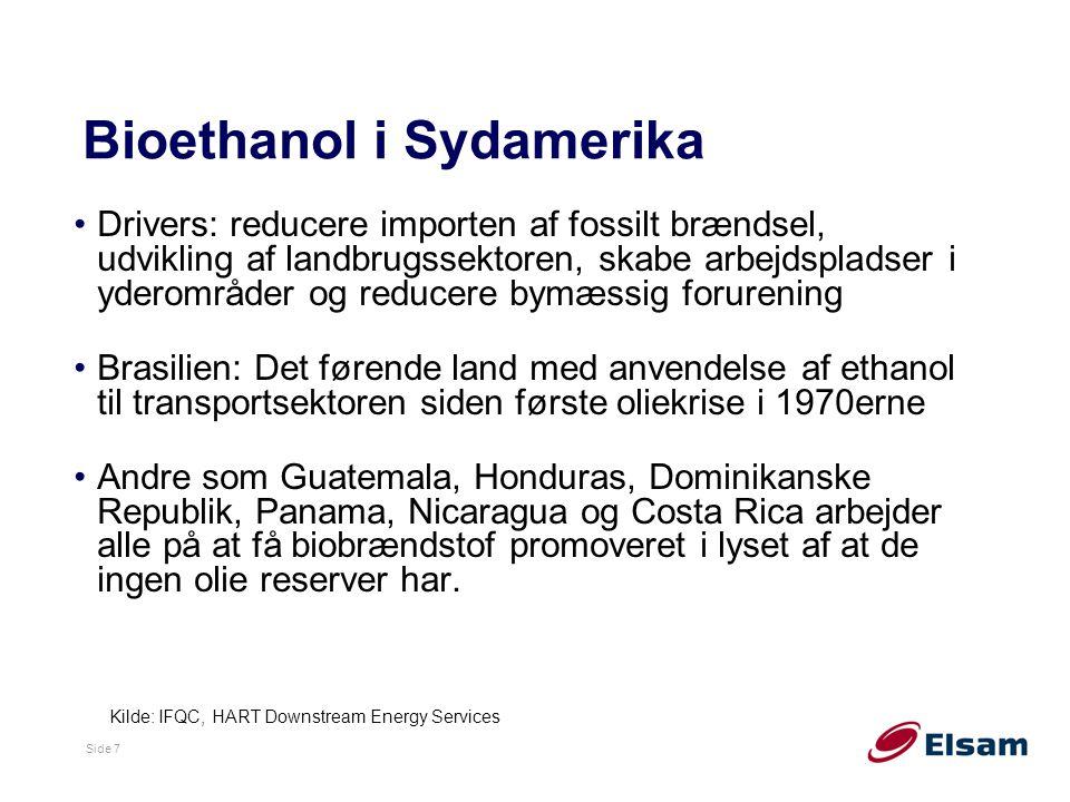 Bioethanol i Sydamerika