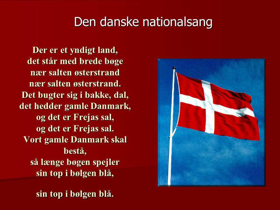 Den danske nationalsang